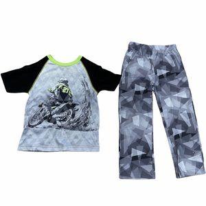 Pj Sleep Dirt bike pajama set 6